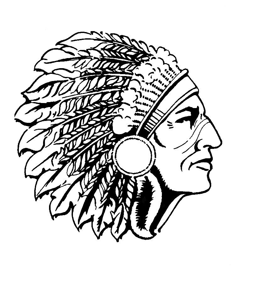 cougar replaces the chief as mascot centennial schools Indian Chief Headdress Tile Clip Art Standing Indian Chief Clip Art