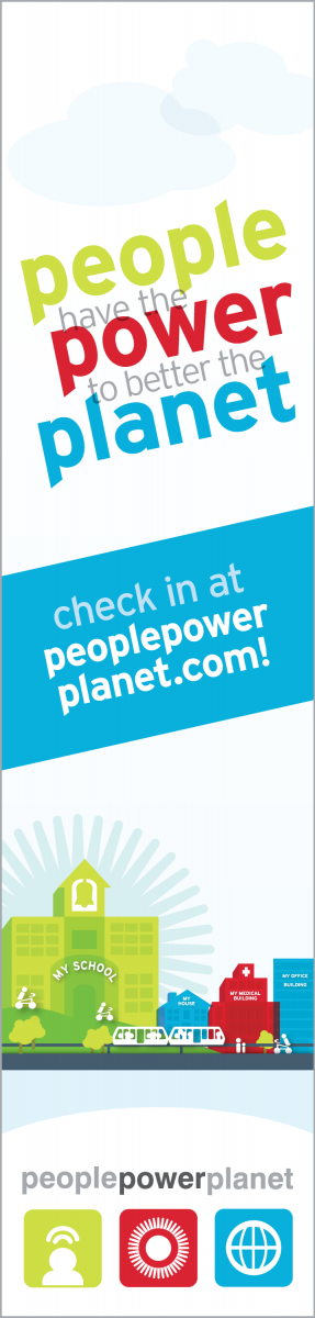 People Power Planet banner