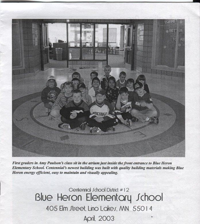 Blue Heron Dedication Program