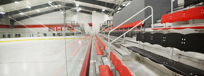 Inside the Sports Arena