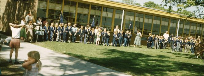 Lovell Elementary School - about 1960
