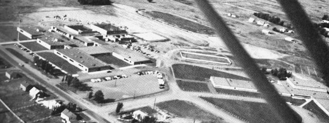 1960's ariel view of Centennial campus