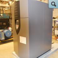 New, energy efficient boiler