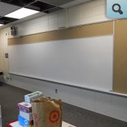 White Board Installation
