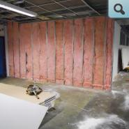 Walls insulated for Sound