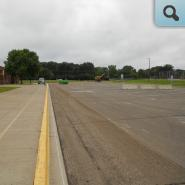 Bus Area Asphalt Milled