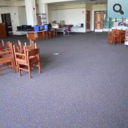 New Carpet Installed in the Media Center