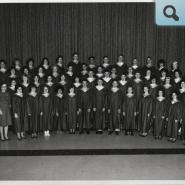Choir - photo matches photos from late 1960's