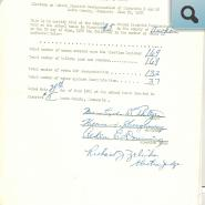 Vote on 1956 Reorganizing Districts #5 & #48