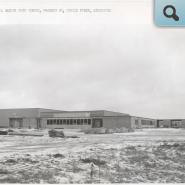 CHS project 2, West elevation, Dec. 30, 1960