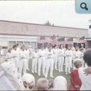 marching band photo - about 1963
