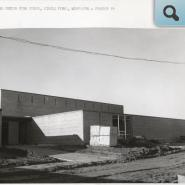CHS project 2, East elevation, Nov. 30, 1960