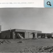 CHS project 2, west elevation, Nov. 30, 1960