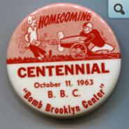 Homecoming Pin, 1963