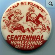 Homecoming Pin, 1961