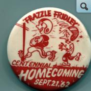 Homecoming Pin, 1962