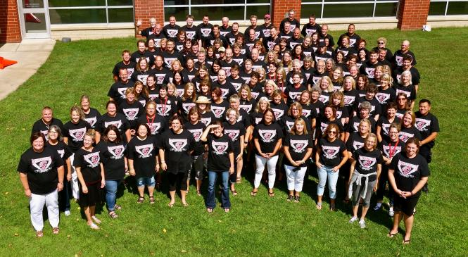 All Middle School Staff