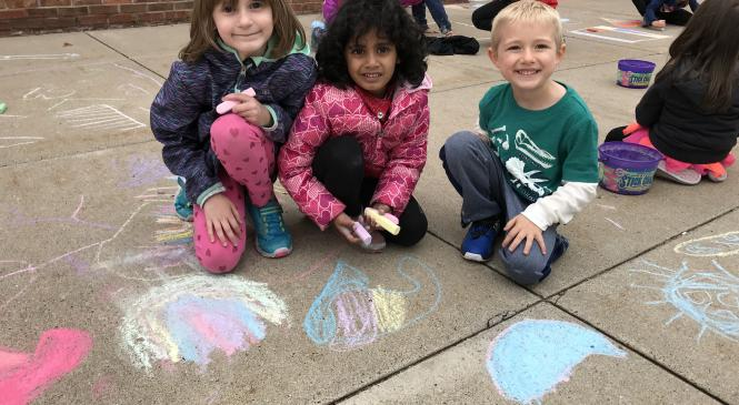 Chalk Day photo