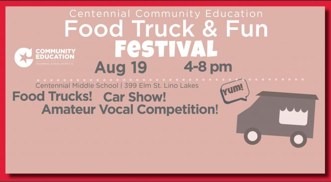 photo of a food truck to represent the upcoming food truck and fun festival