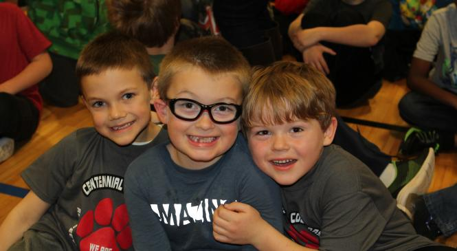 PBIS Assembly photo